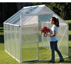 Harbor Freight One Stop Gardens Greenhouse 6x8